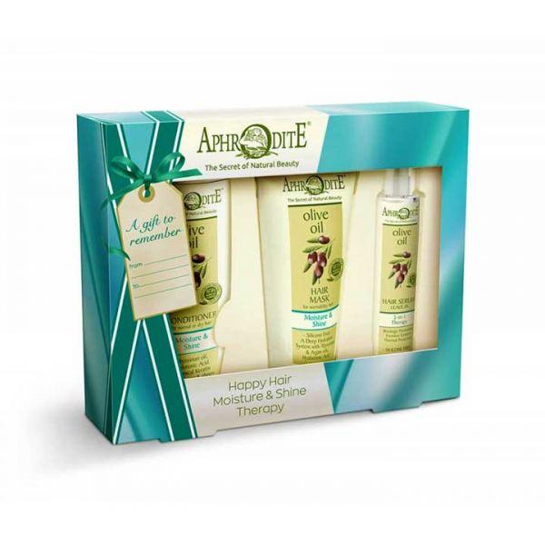 Conditioner Aphrodite Hair Care Moisture & Shine Gift Set – Full Size