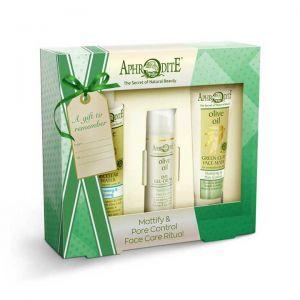 Face Care Aphrodite Face Care Mattifying & Pore Control Gift Set – Full Size