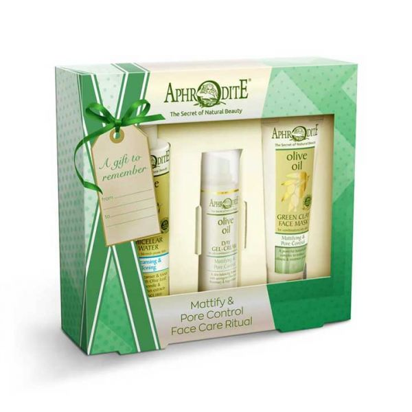 Face Care Aphrodite Face Care Mattifying & Pore Control Gift Set – Full Size