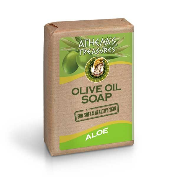 New Arrivals Athena's Treasures Olive Oil Soap Aloe Vera