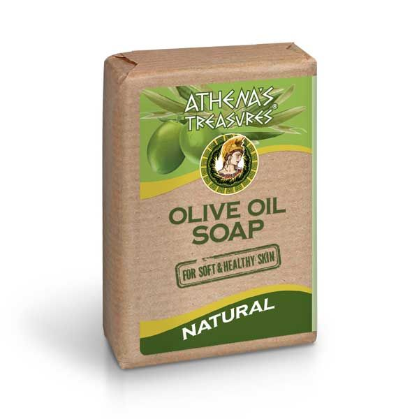 New Arrivals Athena's Treasures Olive Oil Soap Natural