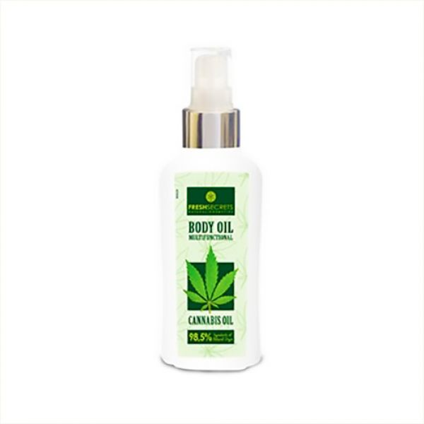 Body Care Fresh Secrets Body Oil Multi Functional with Cannabis