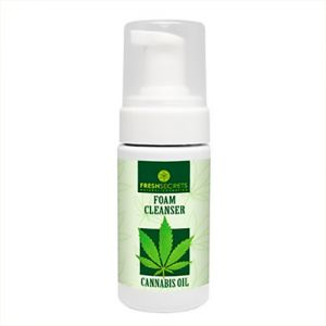 Face Care Fresh Secrets Face Foam Cleanser with Cannabis Oil