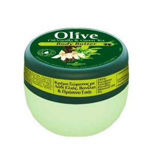 Body Butter HerbOlive Mini Body Butter Vanilla & Green Tea- 60ml