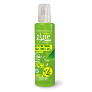 After Sun Care Aloe Treasures After Sun Body Gel Tea Tree Oil
