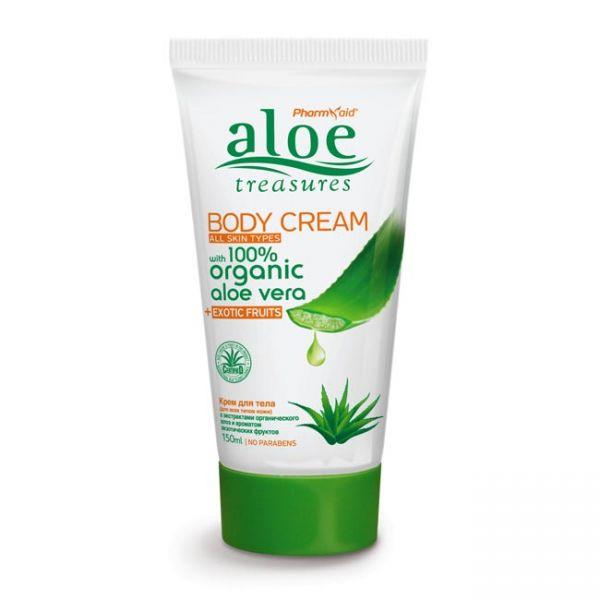 Body Care Aloe Treasures Body Cream Exotic Fruits
