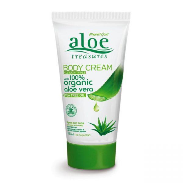 Body Care Aloe Treasures Body Cream Tea Tree Oil