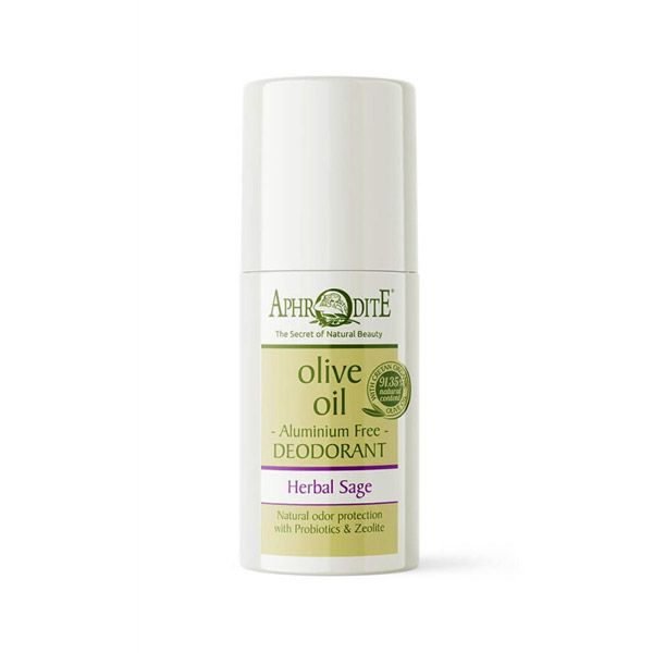 Body Care Aphrodite Aluminum Free Deodorant Roll-on Herbal Sage