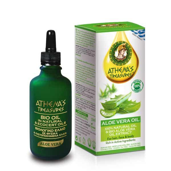 Bath & Spa Care Athena's Treasures Aloe Vera Natural Oil