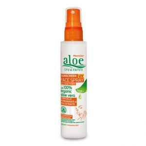Περιποίηση Προσώπου Aloe Treasures Sunscreen UV Face Spray