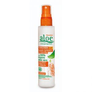 Αντηλιακή Προστασία Aloe Treasures UV Αντηλιακό Σπρέι Μαλλιών