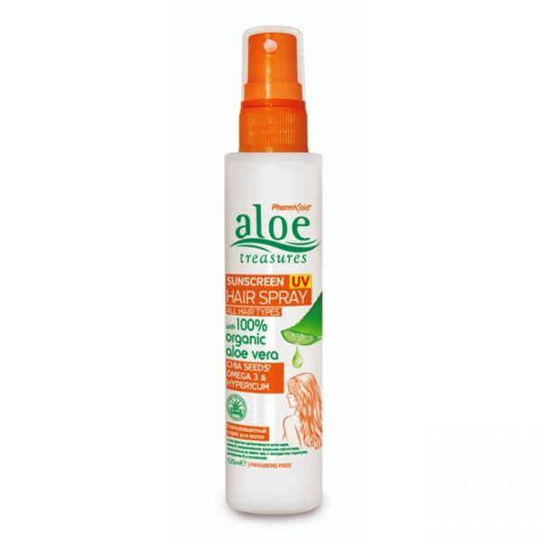 Hair Care Aloe Treasures Sunscreen UV Hair Spray