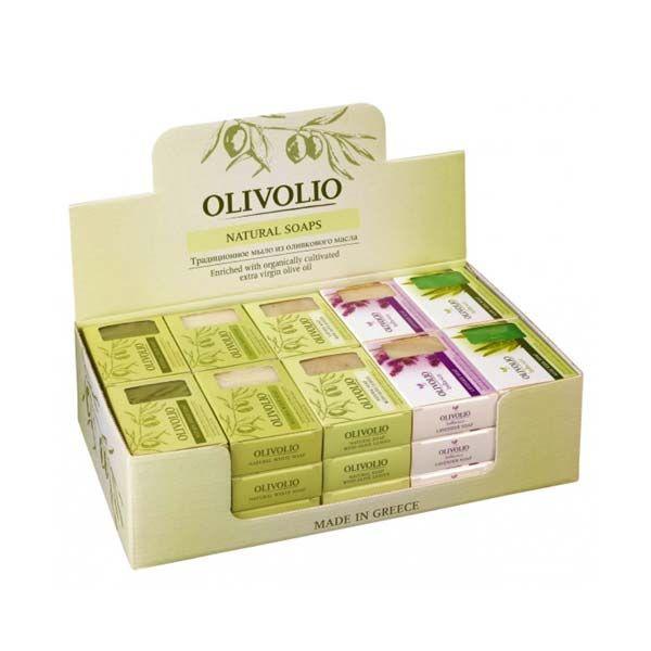 Σαπούνι Olivolio Φυσικό Πράσινο Σαπούνι Ελαιολάδου