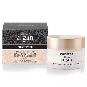Face Care Macrovita Olive & Argan Multi-effective Hyaluronic Cream