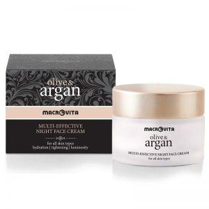 Face Care Macrovita Olive & Argan Multi-effective Night Face Cream