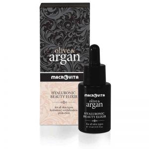 Booster Serum Macrovita Olive & Argan Hyaluronic Beauty Elixir