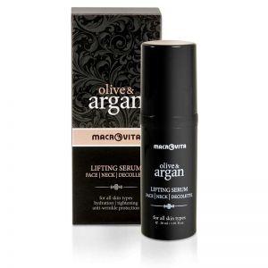 Face Care Macrovita Olive & Argan Lifting Serum