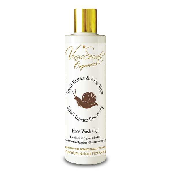Face Care Venus Secrets Snail Extract & Aloe Vera Face Wash