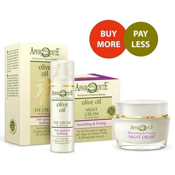 Eye Care Aphrodite Nourishing – Firming Night Cream & Anti Ageing Eye Cream Set