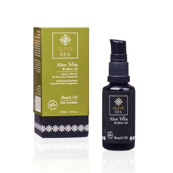 Ανδρική Περιποίηση Olive Spa Aloe Vera Λάδι Γενειάδας