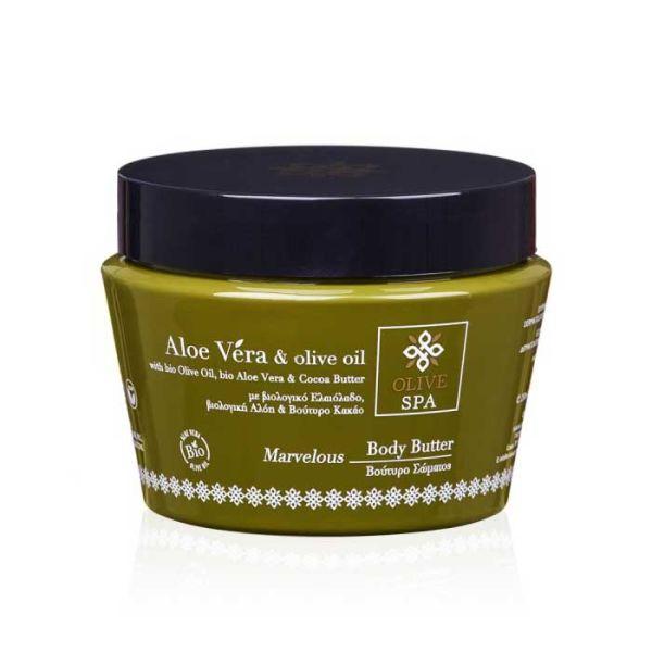 Βούτυρο Σώματος Olive Spa Aloe Vera Βούτυρο Σώματος Marvelous