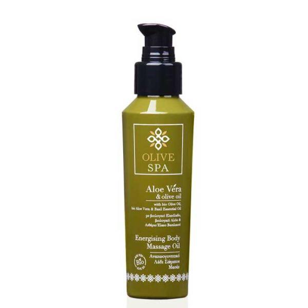 Λάδι Μασάζ Olive Spa Aloe Vera Αναζωογονητικό Λάδι Σώματος Μασάζ