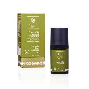 Eye Care Olive Spa Aloe Vera Eye Cream 3 in 1