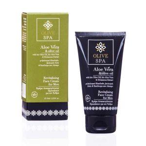 Face Cream Olive Spa Aloe Vera Revitalizing Face Cream for Men