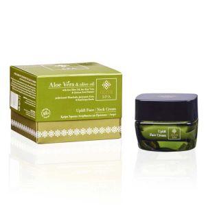 Anti-Wrinkle Cream Olive Spa Aloe Vera Uplift Face / Neck Cream