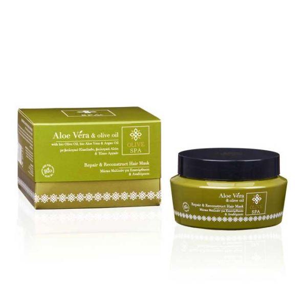 Hair Care Olive Spa Aloe Vera Repair & Reconstruct Hair Mask