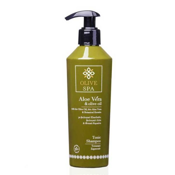 Νέες Αφίξεις Olive Spa Aloe Vera Τονωτικό Σαμπουάν