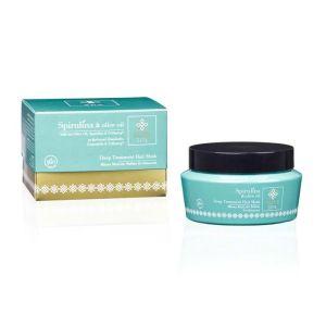Hair Care Olive Spa Spirulina Deep Treatment Hair Mask