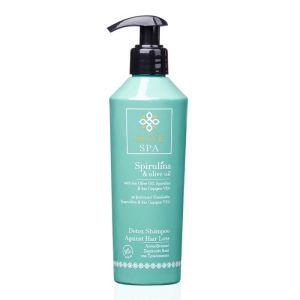 Hair Care Olive Spa Spirulina Detox Shampoo Against Hair Loss